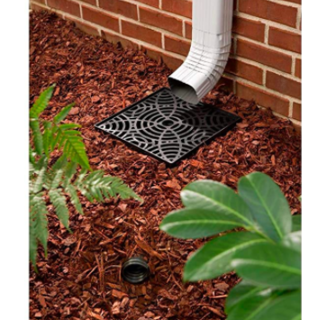 No Dig Low Profile Catch Basin Downspout Extension Kit Drain