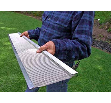 Raptor Stainless Steel Micro Mesh Gutter Guard Profile