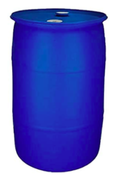 Baytec 55 Gallon BPA Free Water Storage Barrel