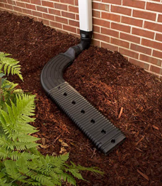 Low Profile Downspout Adapter Drainage Kit with Extension 00
