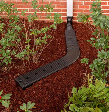 Low Profile Downspout Adapter Drainage Kit with Extension 02