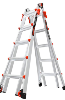 Little Giant Velocity Multi Position 22 Foot Ladder 15422 001