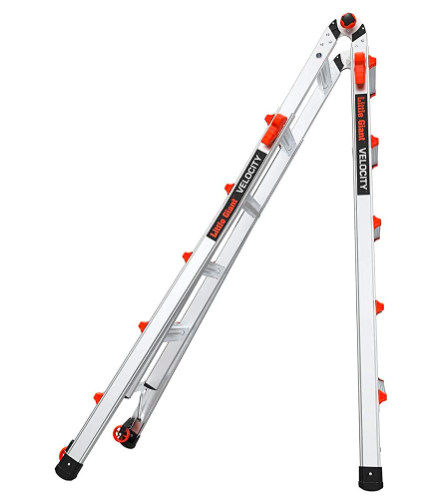 Little Giant Velocity Multi Position 22 Foot Ladder 15422 001 02