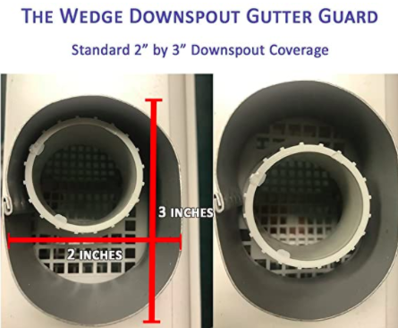 The Wedge Downspout Gutter Guard 03