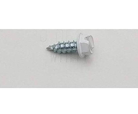 Eagle 1 White 8 Gutter Downspout Zip Screws with Easy Start Sharp Tip 01