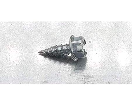 Eagle 1 Zinc 8 Gutter Downspout Zip Screws with Easy Start Sharp Tip 01