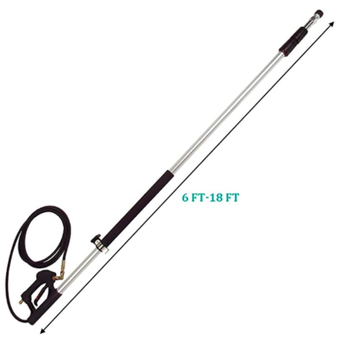 Twinkle Star 4000 PSI Commercial Grade Telescoping Pressure Washer Wand 03