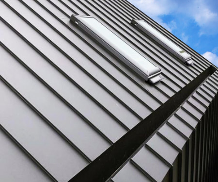 In Roof Architectural Gutter